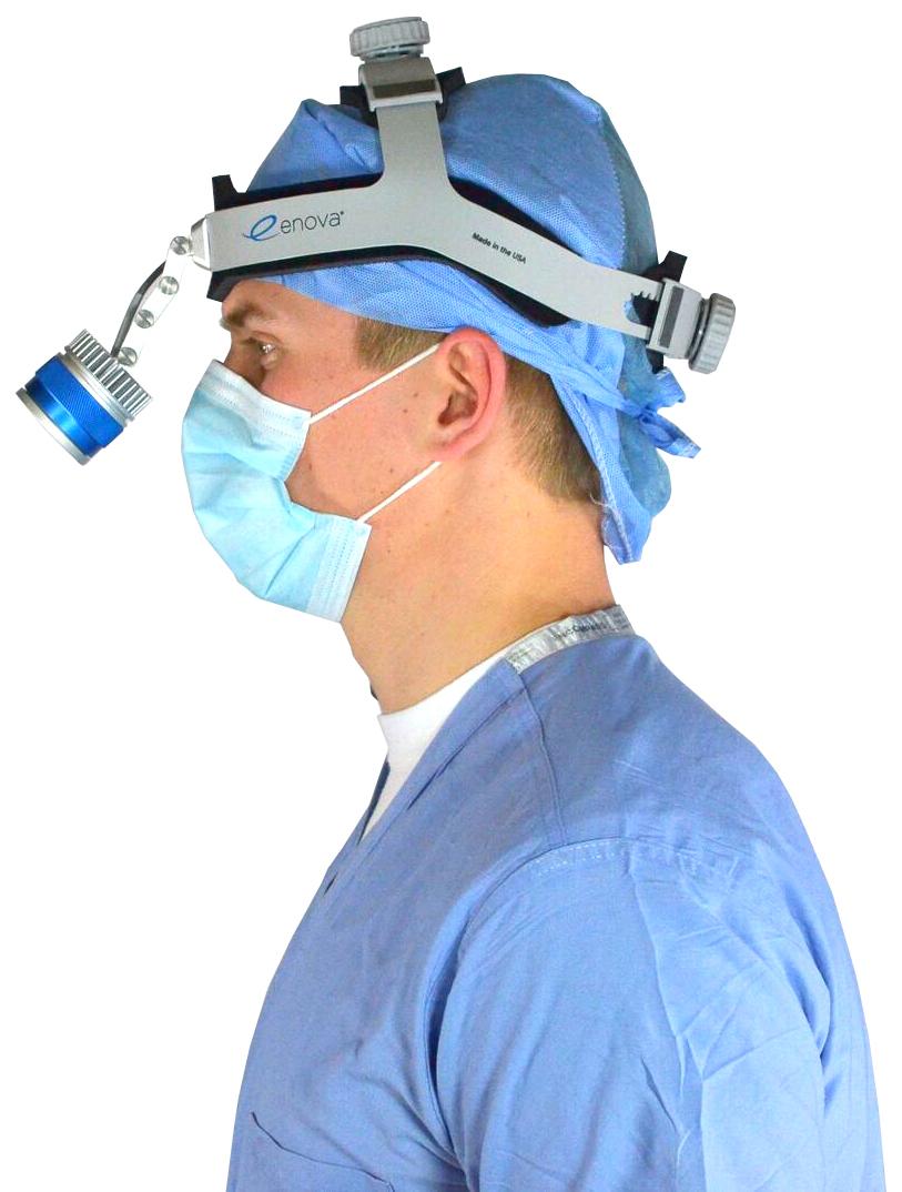 XLT-225A Cordless Surgical Headlamp | Enova Illumination